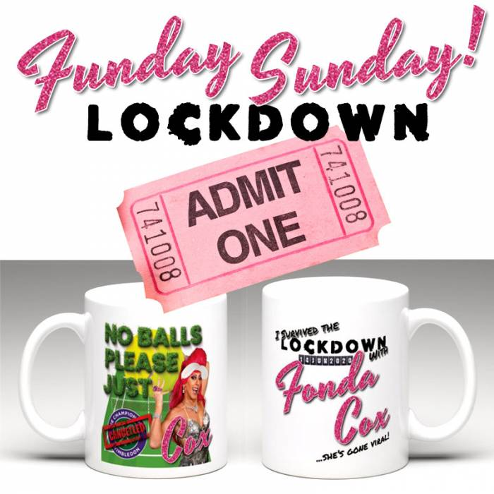 Funday Sunday! LOCKDOWN ticket - with commemorative mug